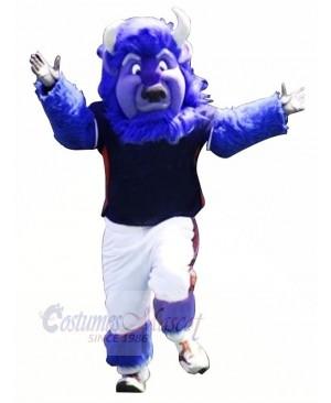 Strong Blue Buffalo Mascot Costumes Animal