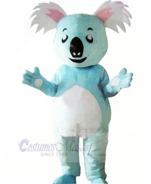 Cute Blue Koala Mascot Costumes Animal