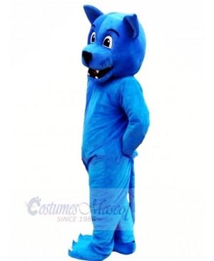 Funny Blue Leopard Mascot Costumes Animal