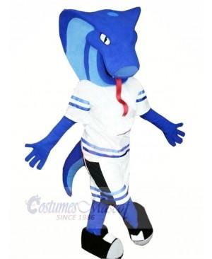Blue Viper Mascot Costumes Animal