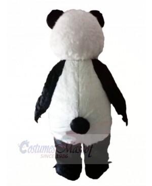 Panda with Long Eyelashes Mascot Costumes Animal