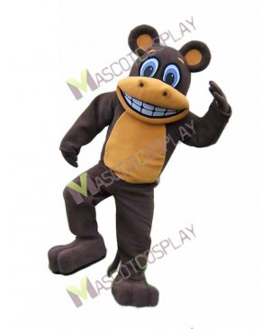 High Quality Adult Brown Monkey Mascot Costume