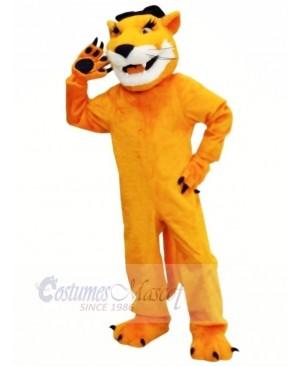 Brown Cougar with Long Beard Mascot Costumes Animal