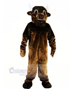 Strong Brown Bull Mascot Costumes Animal
