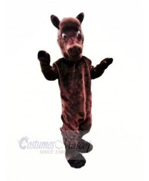 Brown Lightweight Horse Mascot Costumes Animal