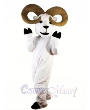 White Ram Mascot Costume Free Shipping
