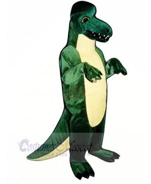 Green Dinosaur Adult Mascot Costumes Animal