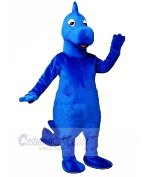 Dilly Blue Dinosaur Mascot Costumes Animal