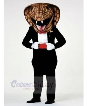 Gentleman Cobra Snake Mascot Costumes