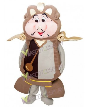 Cogsworth Clock from Beauty and the Beast Mascot Costume