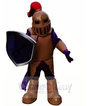 Copper Knight Spartan Trojan Mascot Costume