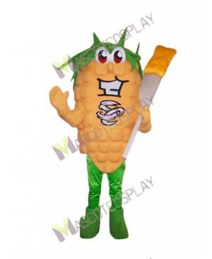 High Quality Adult Fresh Corn Mascot Costume
