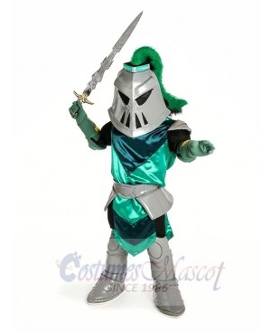 Brave Knight Mascot Costume