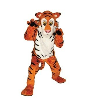 Adult Friendly Tiger Mascot Costume