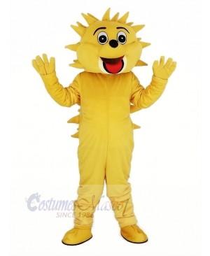Light Brown Hedgehog Mascot Costume Animal