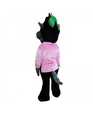 Cartoon Wolf Mascot Costume