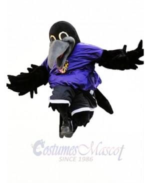 Sporty Lightweight Raven Mascot Costume