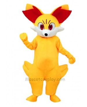 Fired Fennekin Mascot Costume Pokemon Pokémon GO Pocket Monster
