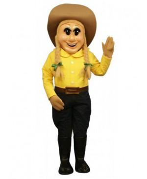 Cowgirl Mascot Costume