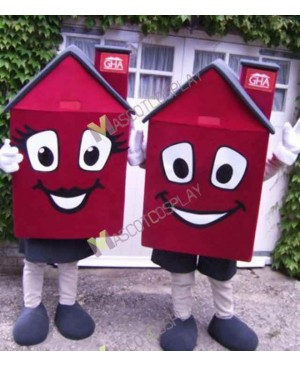 High Quality Adult ONLY ONE Housing House Mascot Costume