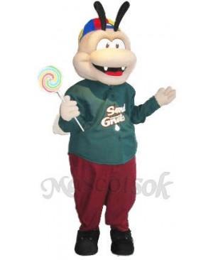 Genic The Gnat Mascot Costumes