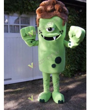 High Quality Adult Green Monster Mascot Costume