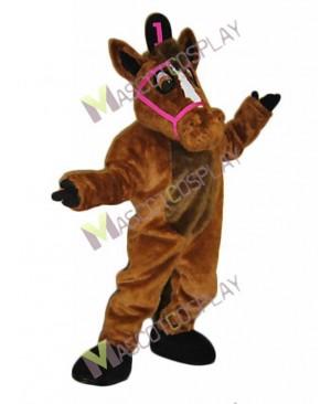 New Leisure Horse Mascot Costume