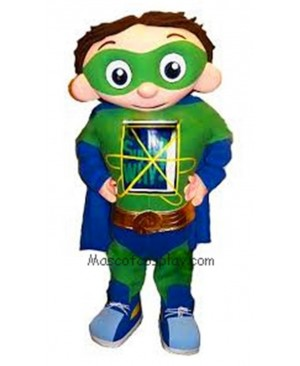 Hot Sale Adorable Realistic New Popular Professional Super Why Super Hero Mascot Costume Character for Party
