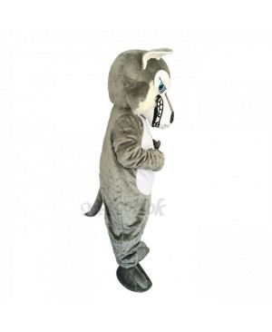 New Strong Grey Wolf Costume Mascot