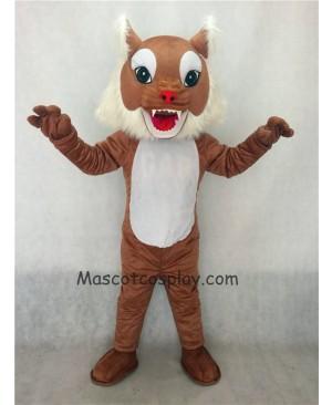 Hot Sale Adorable Realistic New Brown Wildcat Cat Mascot Costume