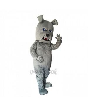 New Lovely Gray Spike Dog Mascot Costume