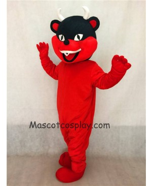 Hot Sale Adorable Realistic New Red Devil Mascot Costume