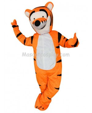 Yellow Tigger Winnie the Pooh Tiger Party Carnival Christmas Adult Mascot Costume