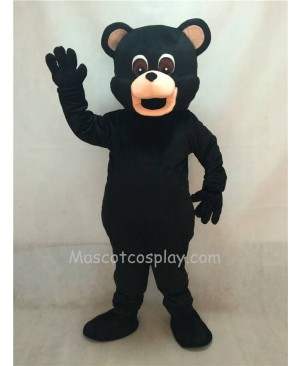 Hot Sale Adorable Realistic New Popular Professional New Adult Black Bear Adult Mascot Costume