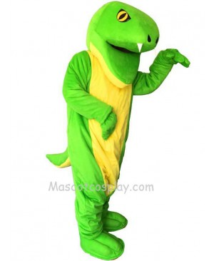 New Green Snake Mascot Costume