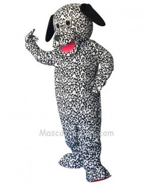 Cute Dalmation Dog Long Ears Mascot Costume