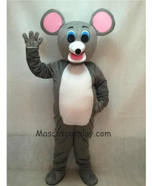 High Quality Mouse Adult Mascot Costume with Round Ears