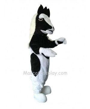 Cute Gypsy Vanner Horse Mascot Costume