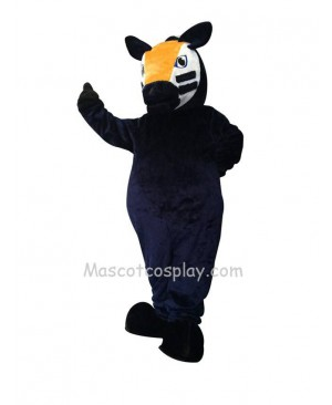 Dark Blue Trojan Horse Mascot Costume