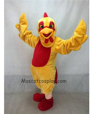 Hot Sale Adorable Realistic New Popular Professional Yellow Chicken Mascot Costume