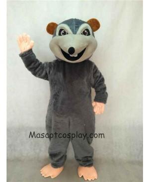 New Dark Gray Rink Rat Mascot Costume