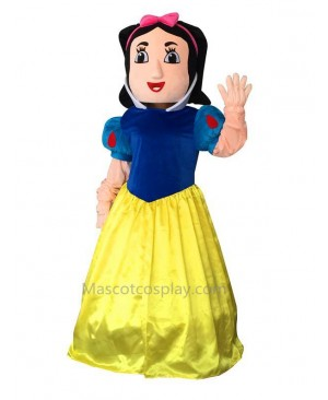 High Quality Snow White Mascot Costume Snowwhite Cinderella Mascot Costume Adult Party Carnival Christmas Mascot Free Shipping