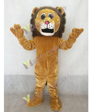 Fierce Adult Lion Mascot Costume