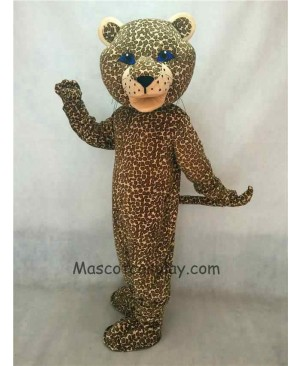 Hot Sale Adorable Realistic New Popular Professional Jaguar Mascot Costume with Blue Eyes