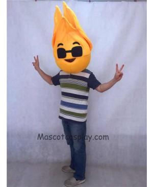 Hot Sale Adorable Realistic New Popular Professional Hancock Heat Mascot HEAD ONLY