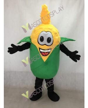 Yellow Husky Corn Mascot Costume