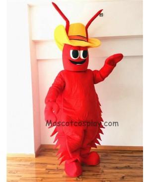 Cute Conrad Crawdad Mascot Costume