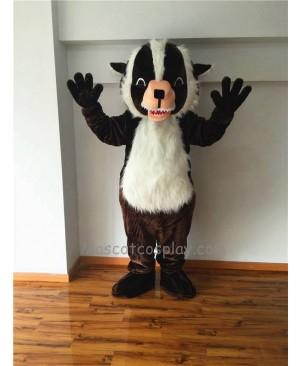 Cute Badger Mascot Costume