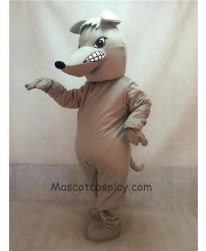 High Quality Grey Ismella Rat Mascot Costume