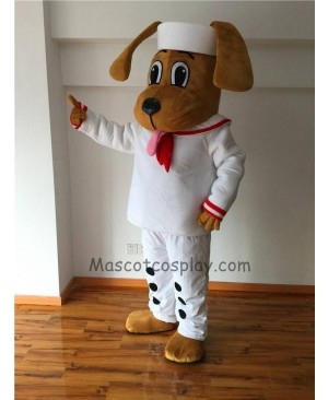 Cute Sailor Dog Mascot Costume